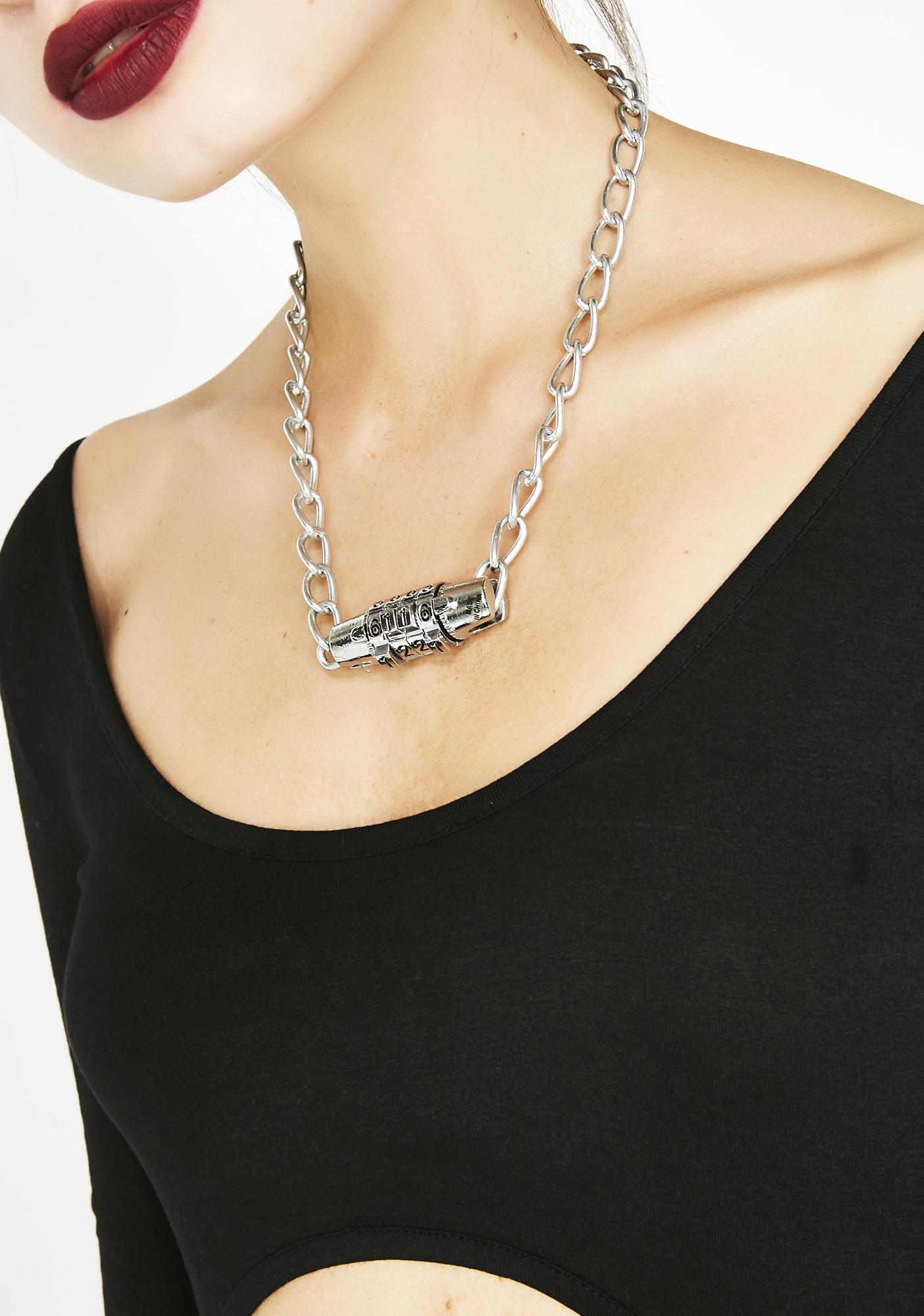 What's Your Code Lock Necklace