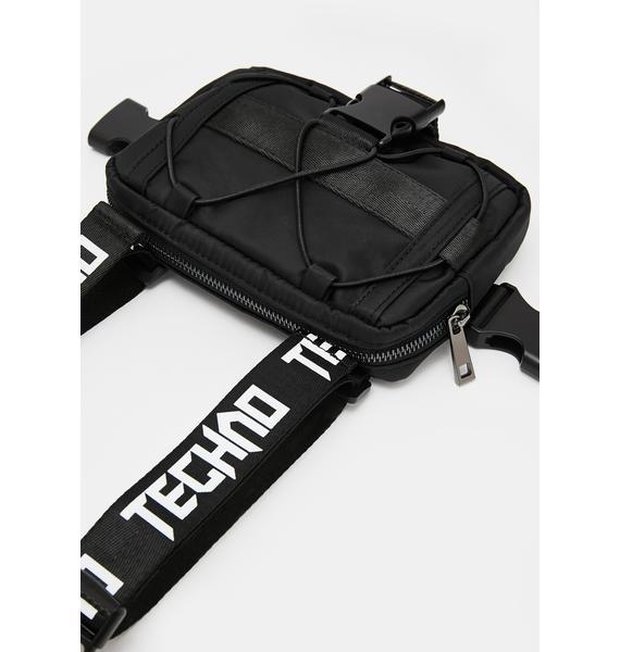 Club Exx I Want Techno Fanny Pack