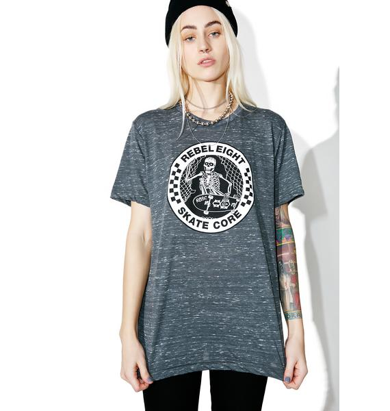 Rebel8 Skate Core Burnout Tee