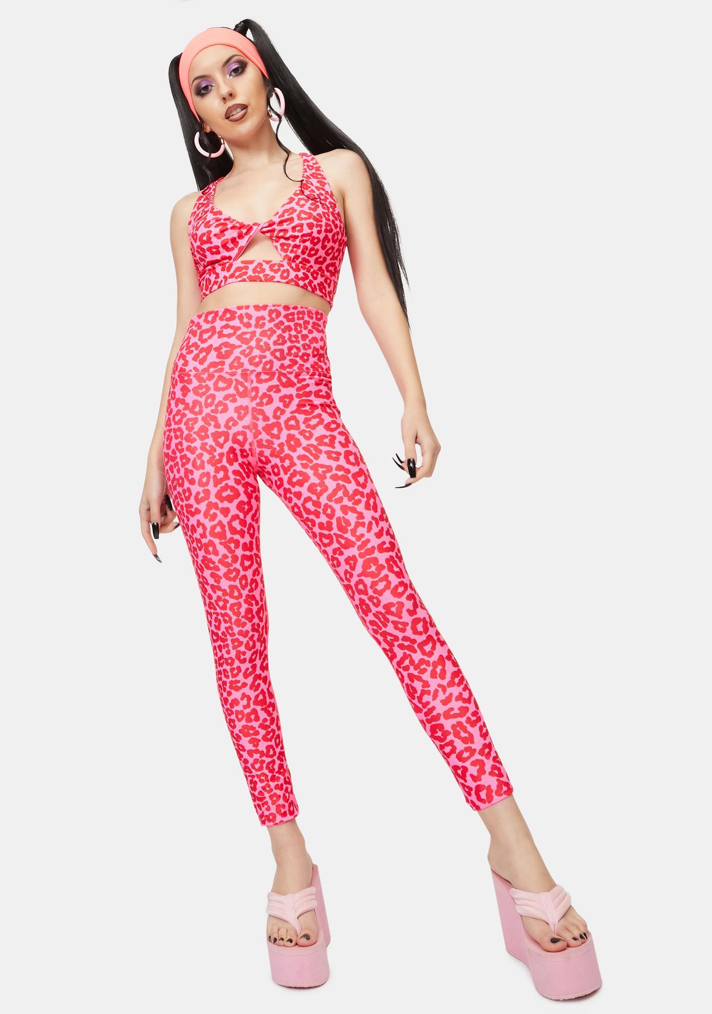 Beach Riot Leopard Love Ayla Printed Leggings