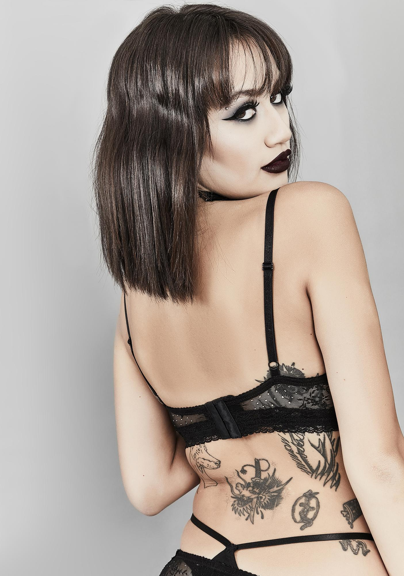 Widow Final Farewell Mesh Bra