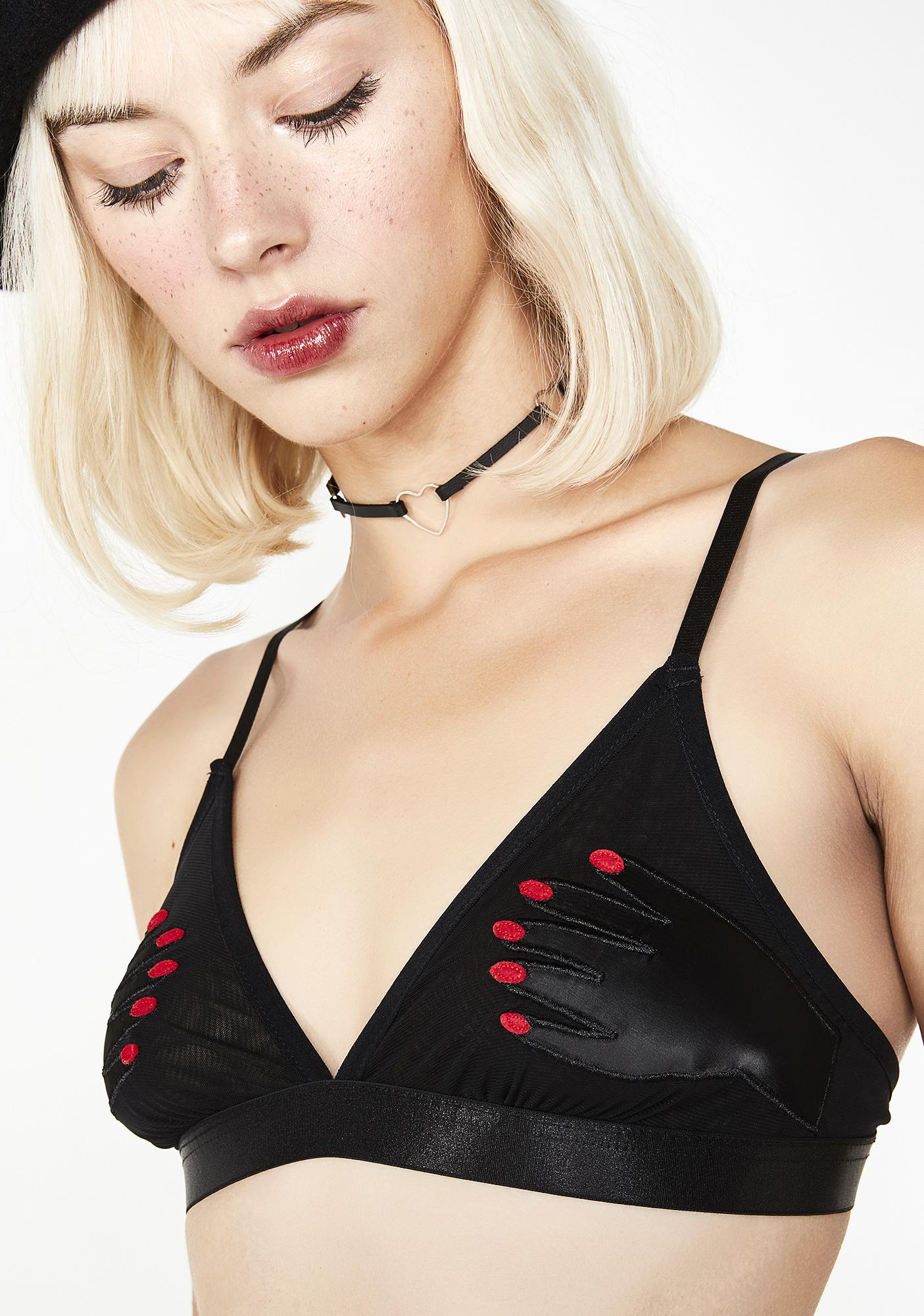 Lazy Oaf What A Handful Bralette