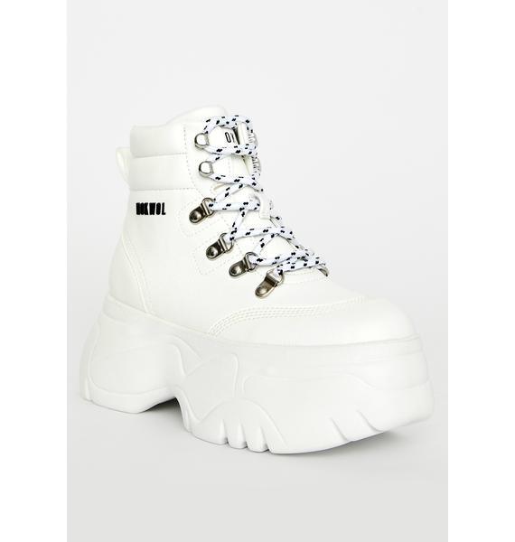 NOKWOL Scared Platform Sneakers