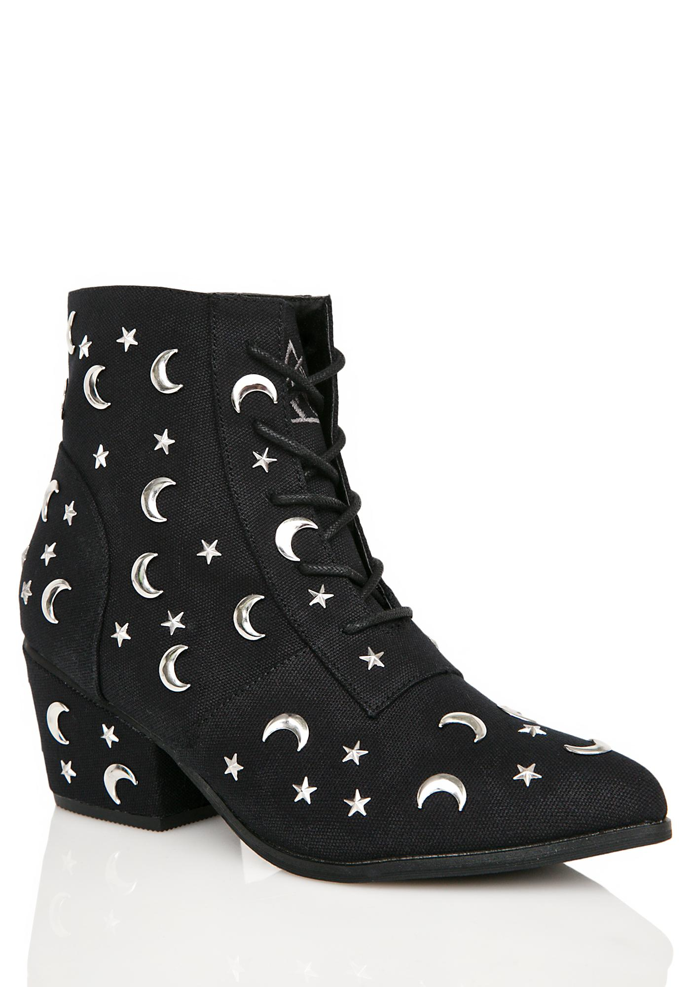 Y.R.U. Aura Qozmiq Stars And Moons Booties