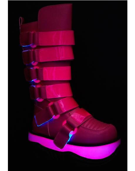 Neptune UV Reactive Platform Boots