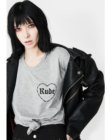 Rude Graphic Tee