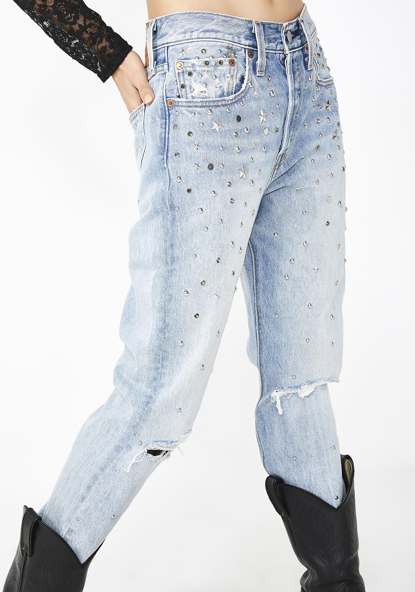 Levis Counting Stars 501 Skinny Jeans