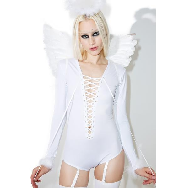 Dolls Kill Sexy Saint Costume Set