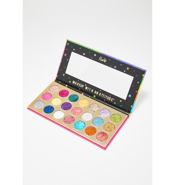 Rude Cosmetics United Shades Of Glitter Eyeshadow Palette