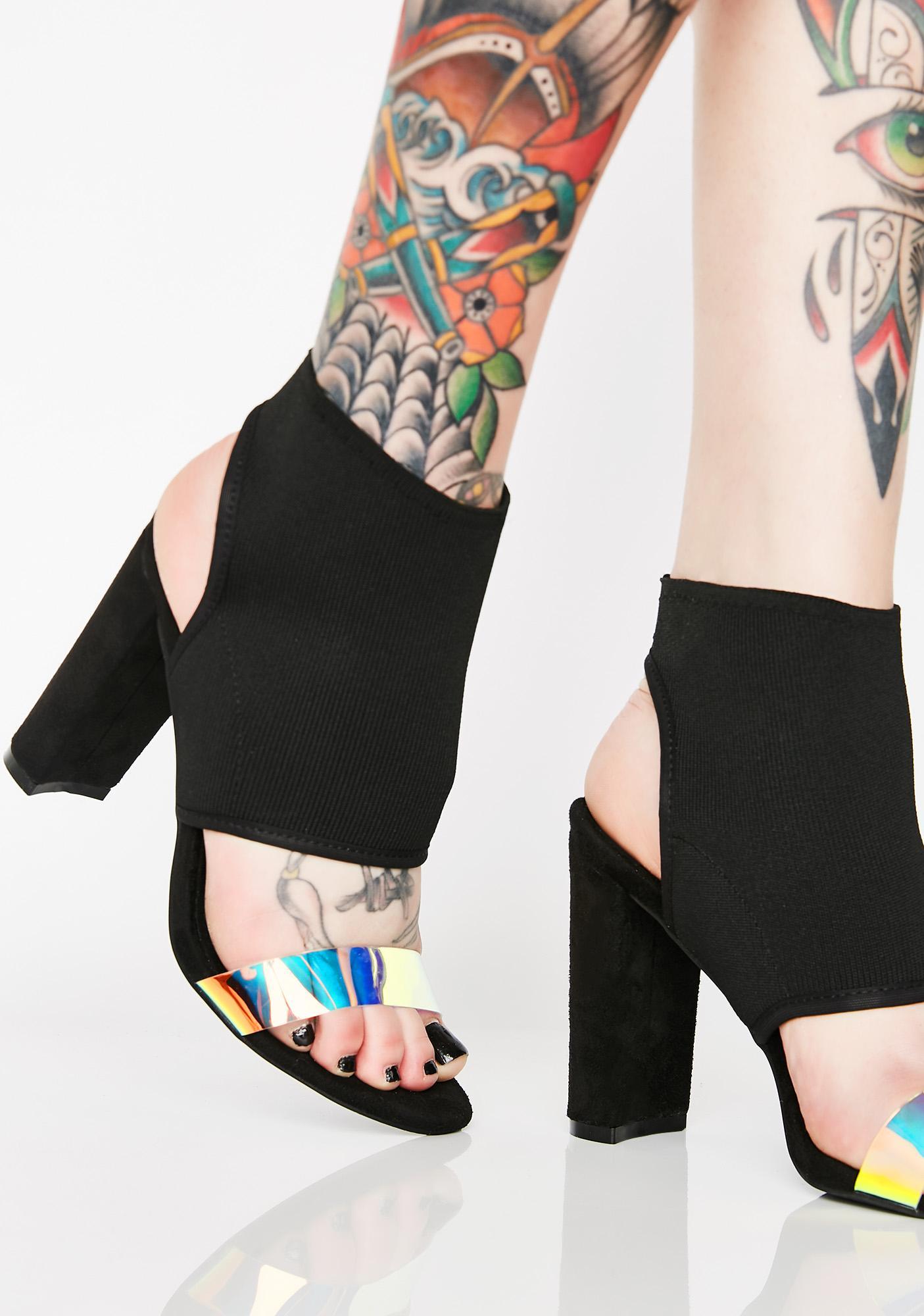 Work Magic Cutout Heels