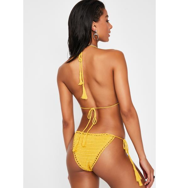 Sunny Pacific Breeze Crochet Bikini