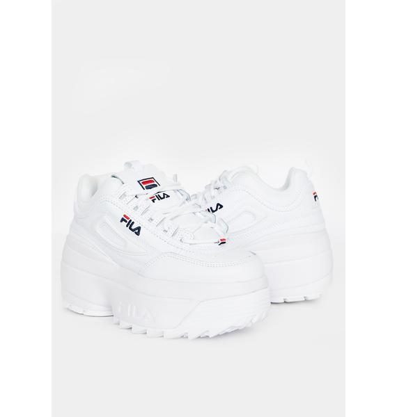 Fila Disruptor 2 Wedge Sneakers