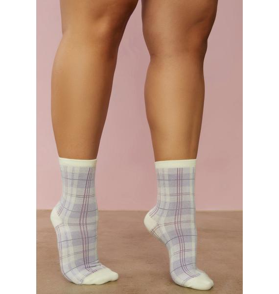 Winged Thing Butterfly Crew Sock Set