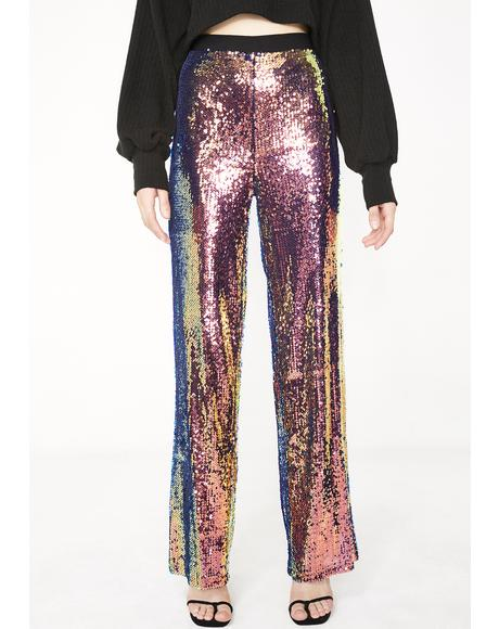 Flashy Fever Sequin Pants