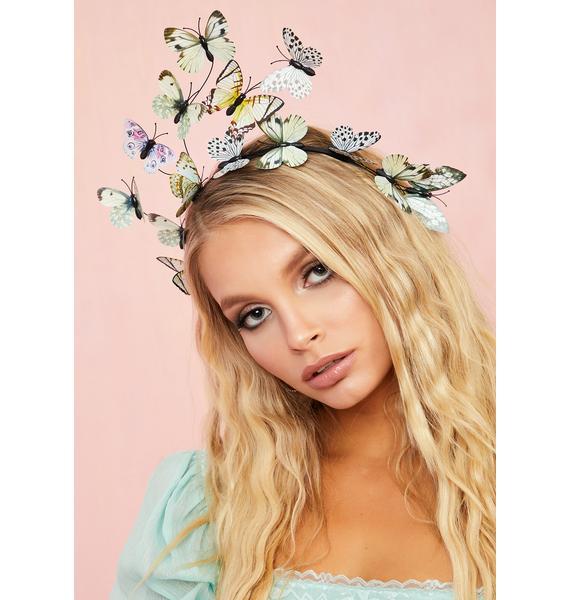 Angel Lost In Dreams Butterfly Headband