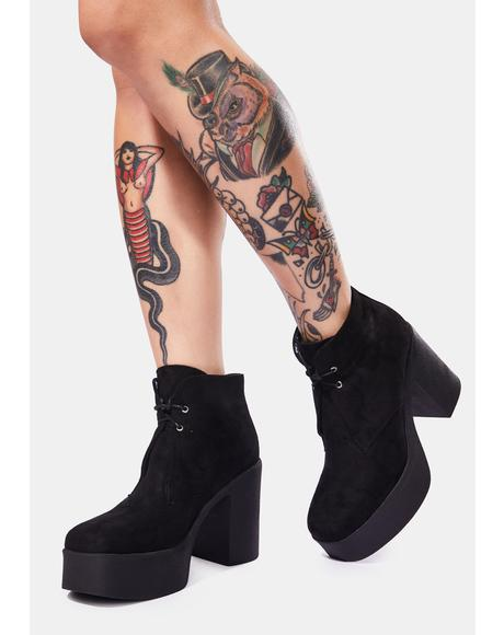 What You Know Platform Boots