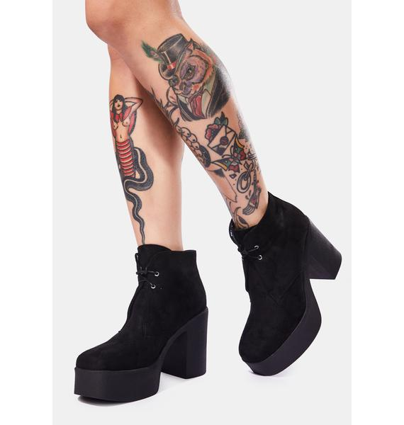 Lamoda What You Know Platform Boots