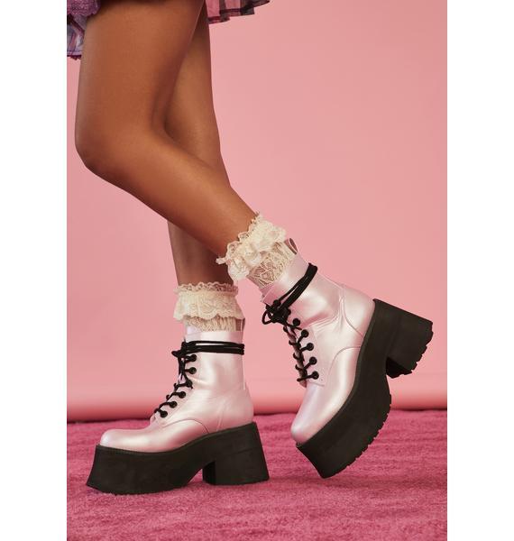 Sugar Thrillz Razzle Dazzle Platform Boots