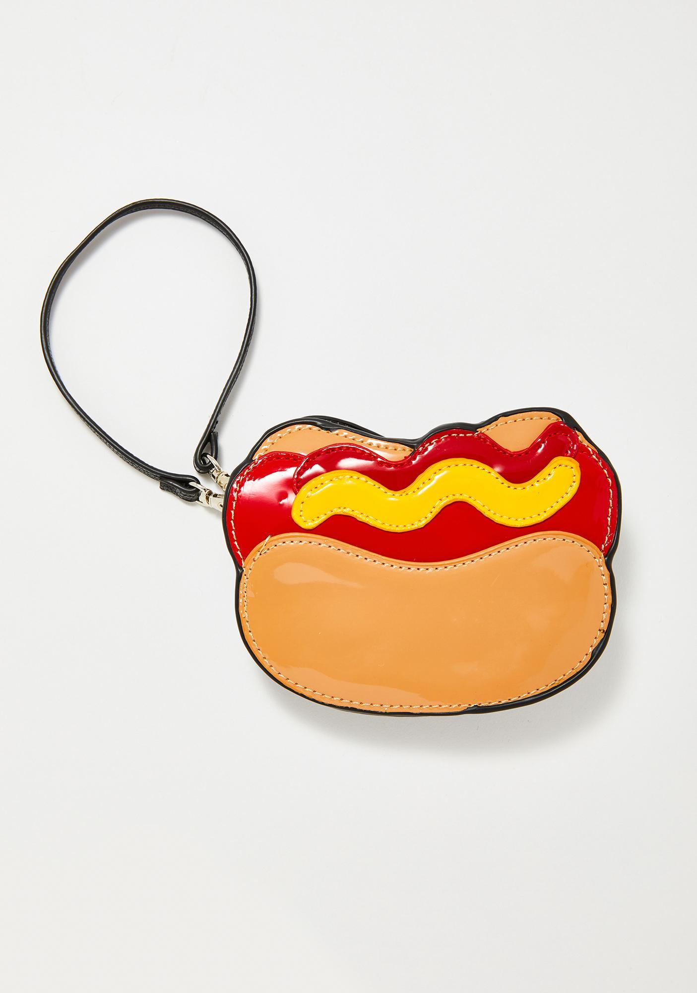 American Made Hot Dog Clutch