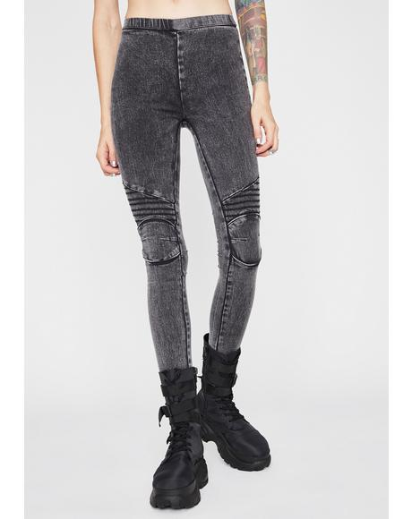 Va Va Vroom Moto Leggings