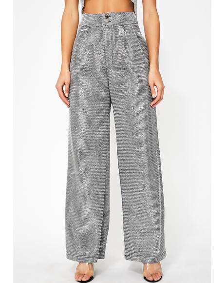 Platinum Party Thang High Waist Pants