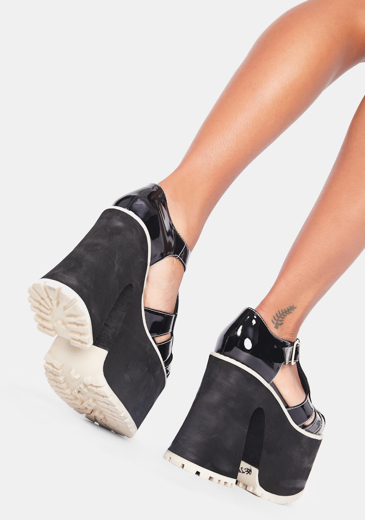 Current Mood After School Hellraiser Patent Mary Janes