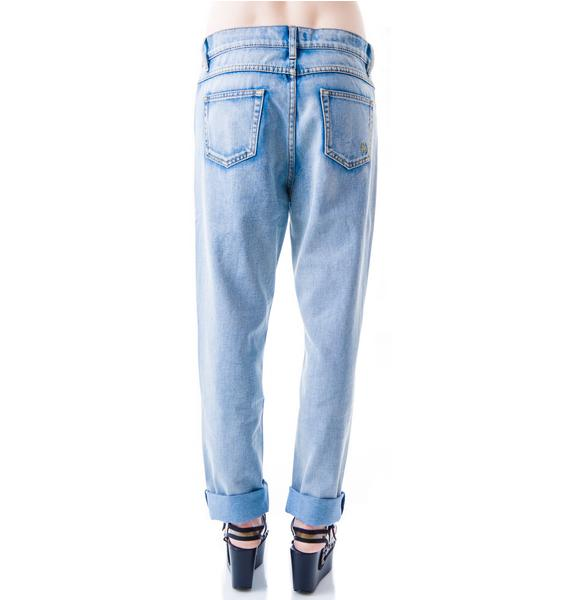 Evil Twin Bad Boy's Boyfriend Jean Vintage Blue