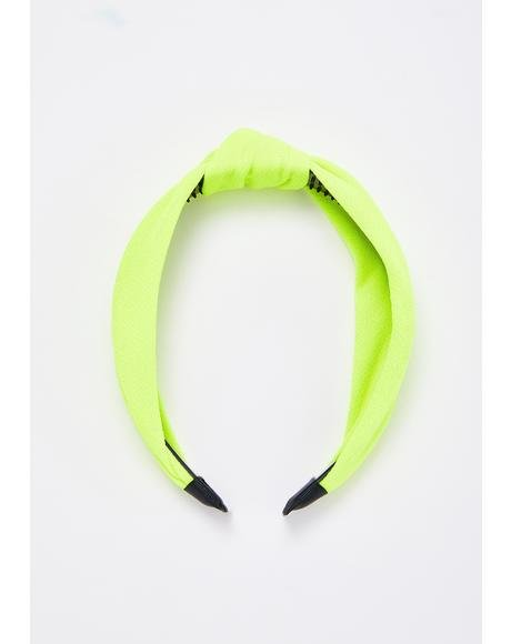 Nuclear Knot Your Babygirl Headband