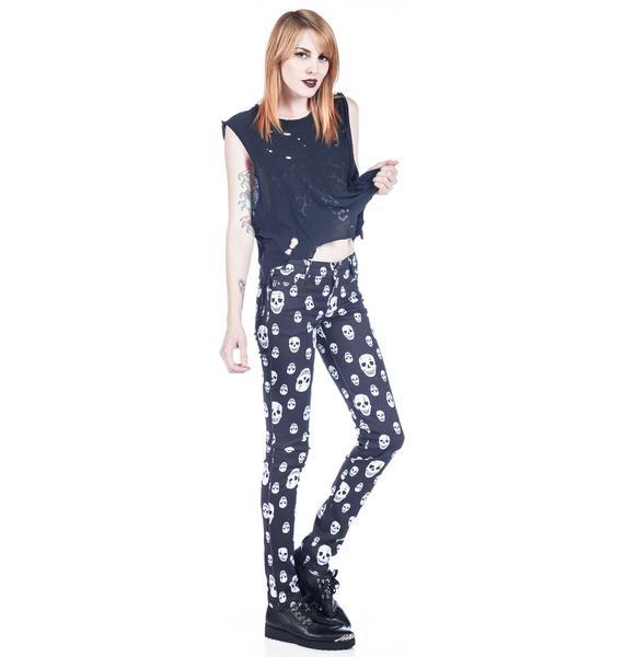 Tripp NYC Toxic Skull Jeans