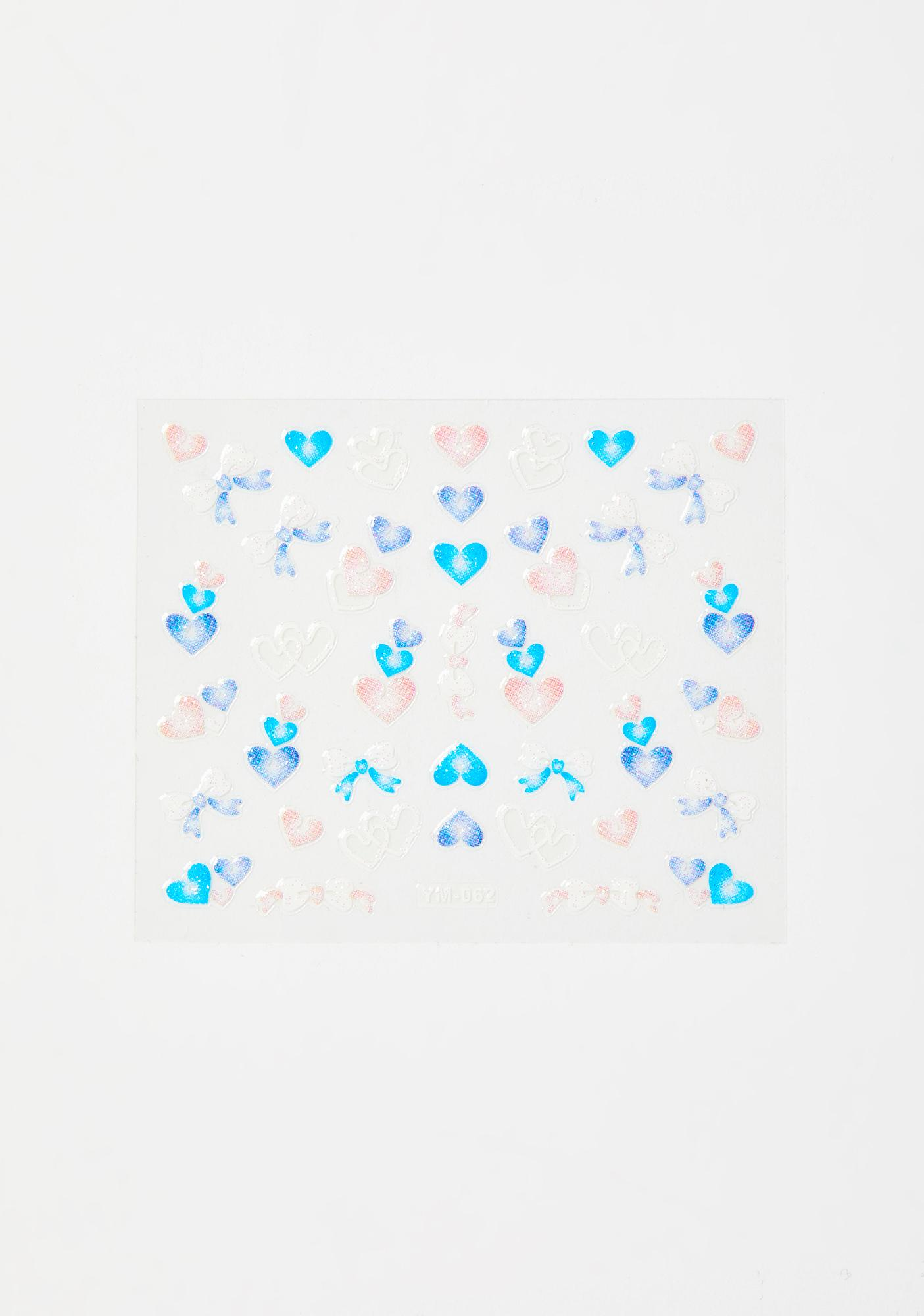 Be My Sweetheart Face Stickers