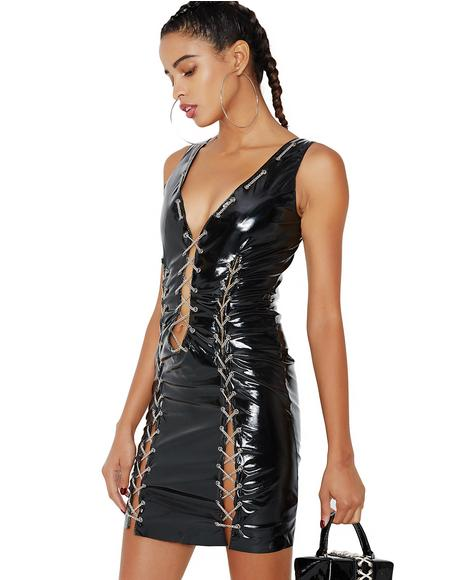 Anything Goes Latex Dress