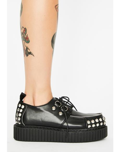 Keepin' It Real Studded Creepers
