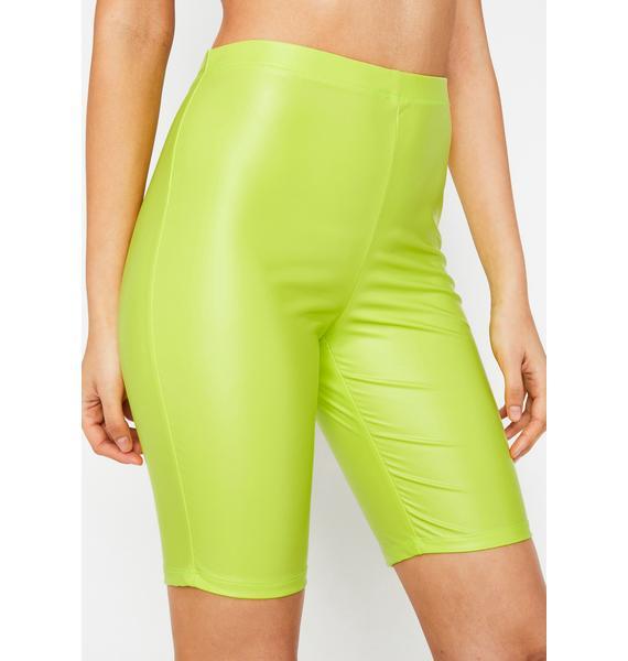 Electrik Feelz Coated Shorts