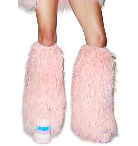 J Valentine Eskimo Kisses Mohair Legwarmers