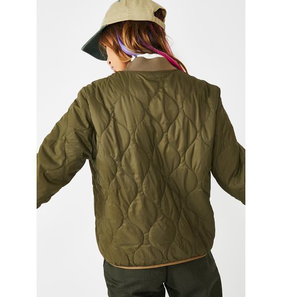 Obey Bunker II Puffer Jacket