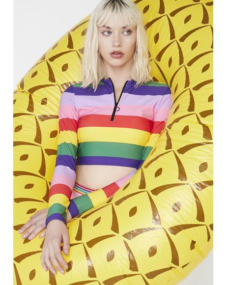 Rainbow Rash Vest