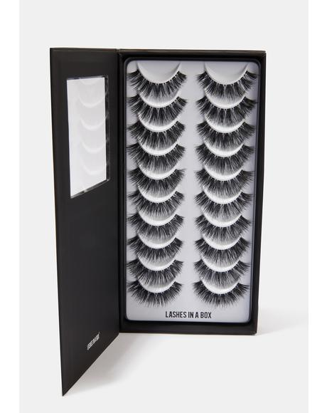 Number 27 Natural Hair Eyelashes