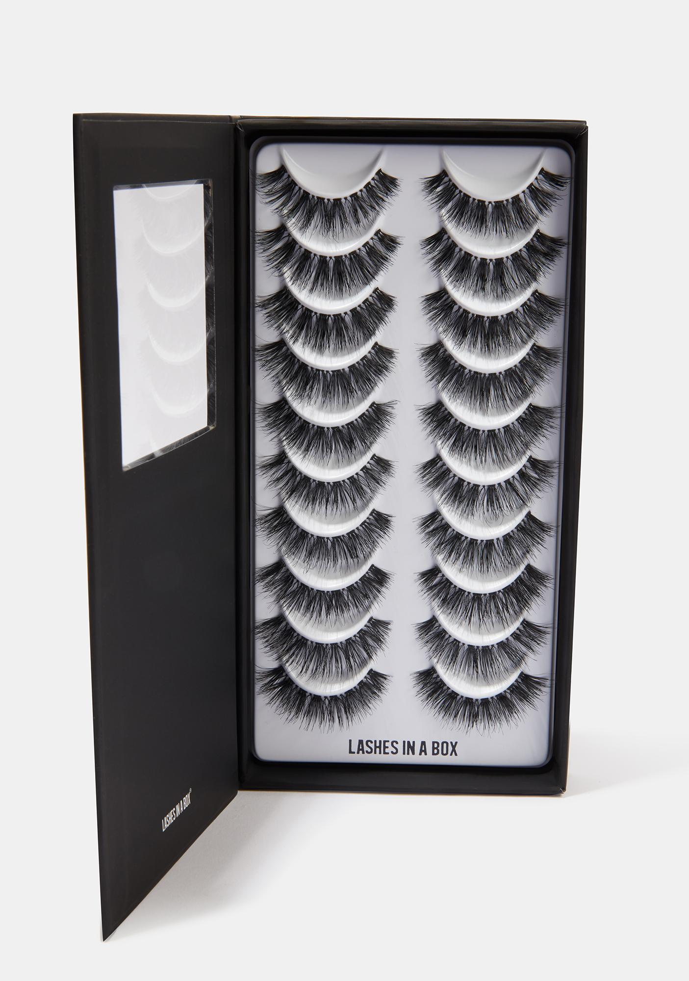 LASHES IN A BOX N°27 Natural Hair Eyelashes