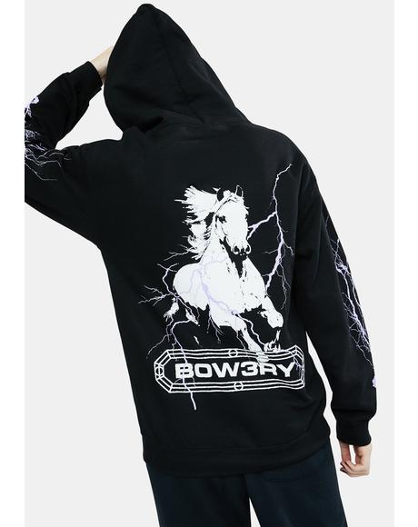 Pale Horse Graphic Hoodie