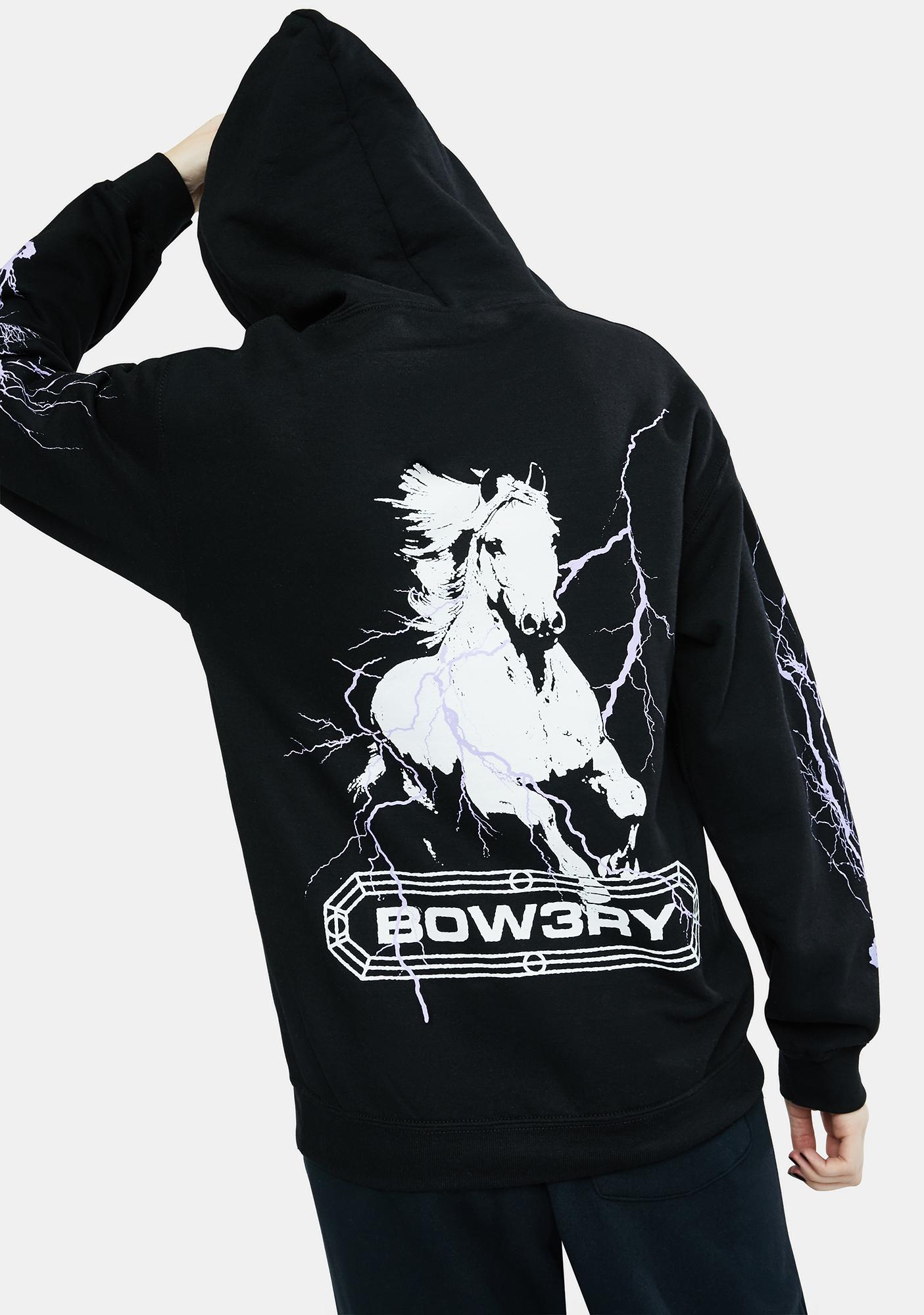 BOW3RY Pale Horse Graphic Hoodie
