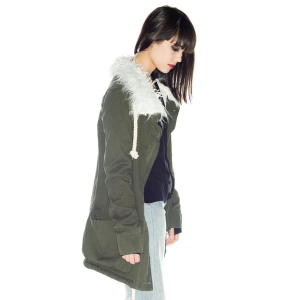 One Teaspoon Moss Defender Duffle Coat
