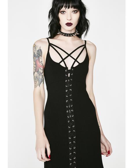 Diabolica Midi Dress