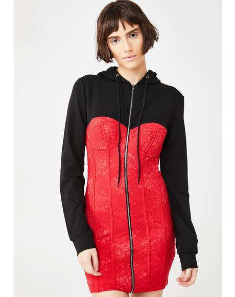 Fashion Killa Hooded Dress