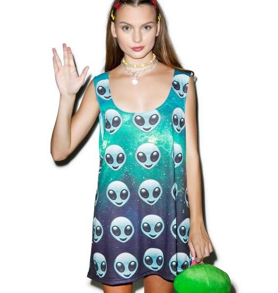 Alien Emoji Tank Top