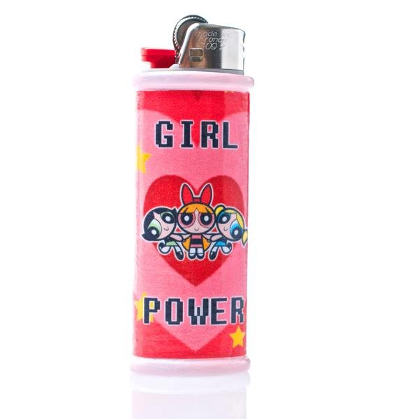 My Bubblegum Fantasy Girl Power Lighter Case