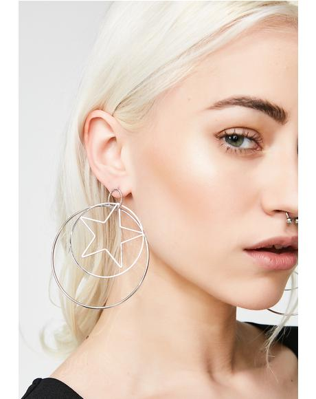 Luna Lover Hoop Earrings
