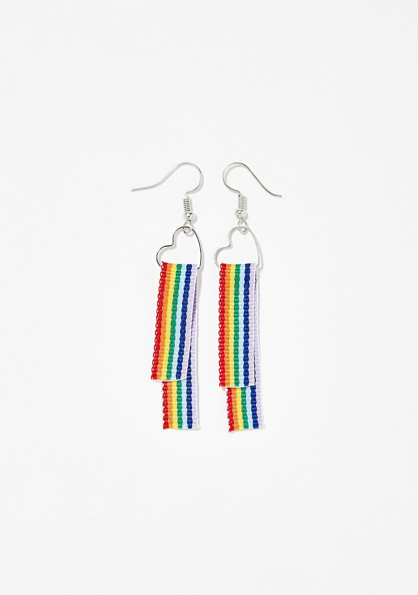 Color My World Rainbow Earrings