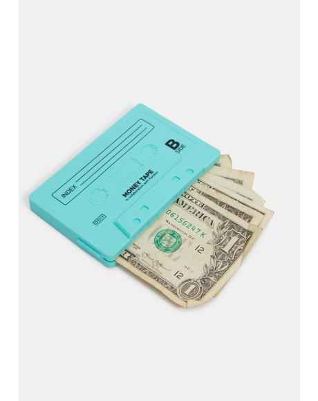 Aqua Sick Jams Cassette Mix Tape Wallet