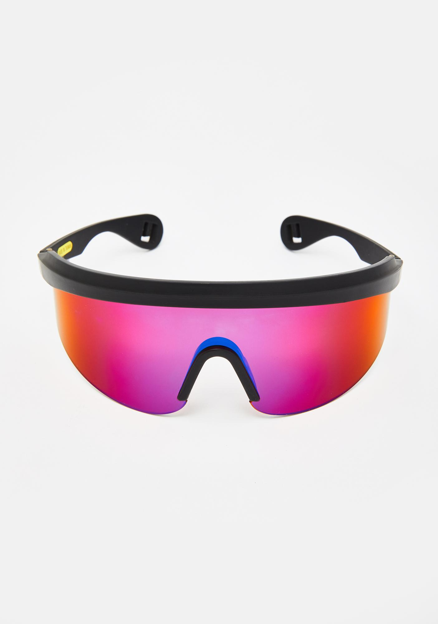 Good Times Eyewear Blade Revo Shield Sunglasses