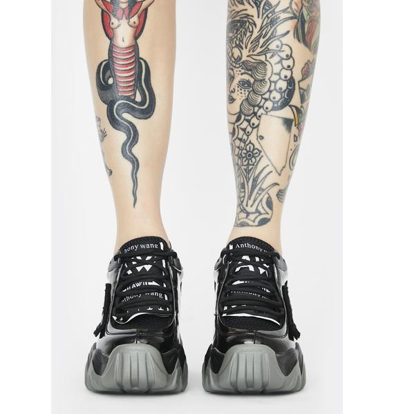 Anthony Wang Blackberry Platform Sneakers